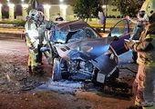 ۸ کشته در تصادف سنگین اتوبان قزوین