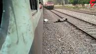 مرد تهرانی خود را جلوی قطار انداخت!