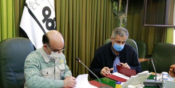 امضای تفاهمنامۀ همکاری بین فولاد مبارکه و اتاق بازرگانی تهران