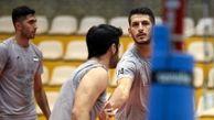 مدافع تیم والیبال ایران در حین بازی ایزوله شد