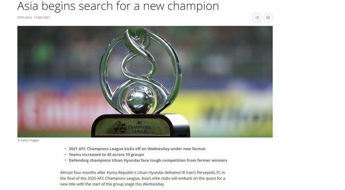 پرسپولیس در بین مدعیان قهرمانی آسیا از نگاه فیفا