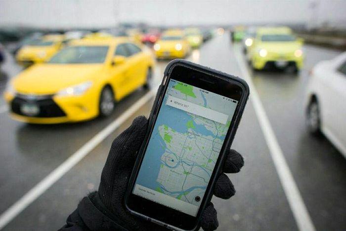 یک شکایت جدید از تاکسی های اینترنتی