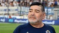 ادای احترام به مارادونا پیش از بازی استقلال- صنعت نفت + عکس