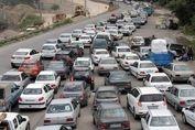 ترافیک سنگین در جادههای به سمت شمال