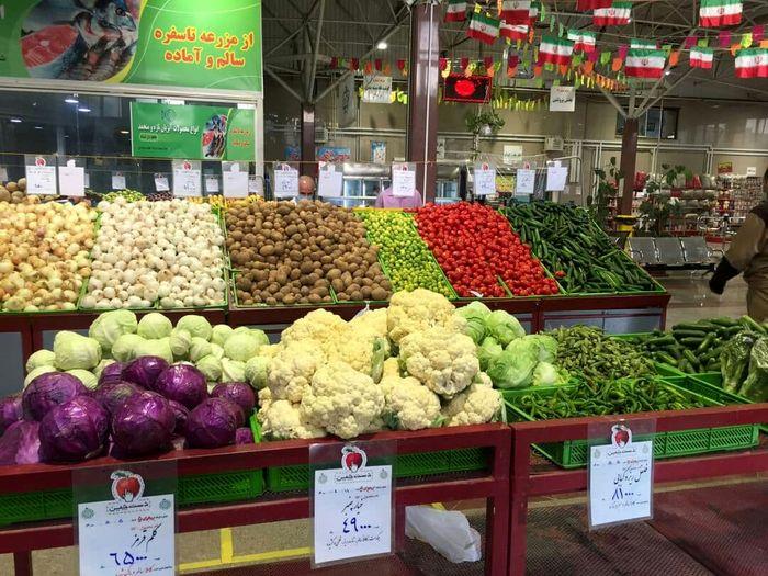 آخرین قیمت میوه و تره بار در بازار ( ۴شهریور )