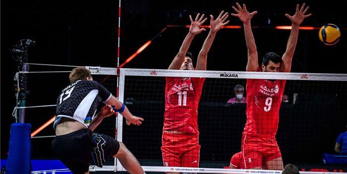 زور ایران به فرانسه نرسید ! / والیبال ایران ۰ - فرانسه ۳