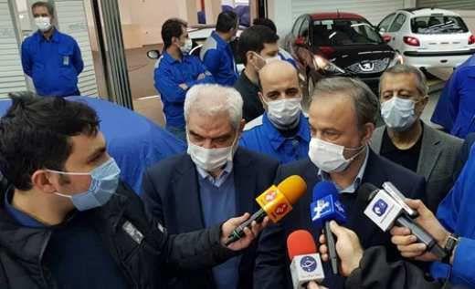 محصول ۲ رنگ ایران خودرو در راه است + عکس
