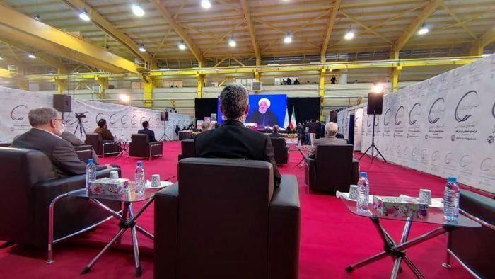 افتتاح پتروشیمی لردگان توسط رئیسجمهور