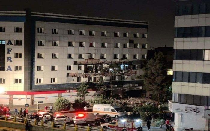 صدای انفجار در شهران تهران