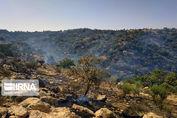 خبرهای نیمه خوش از آتشسوزی کوه دیل گچساران