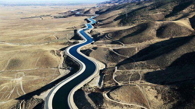 افتتاح قطعه نخست پروژه انتقال آب از خلیجفارس/تصاویر