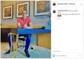 گشت و گذار علی کریمی در امارات