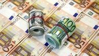 قیمت دلار و یورو اعلام شد(۱۴۰۰/۰۱/۲۰) + جدول