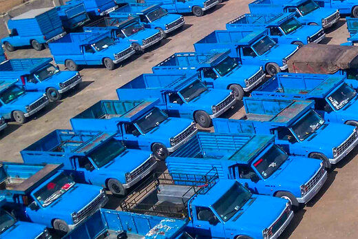 قیمت نیسان آبی در بازار + جدول
