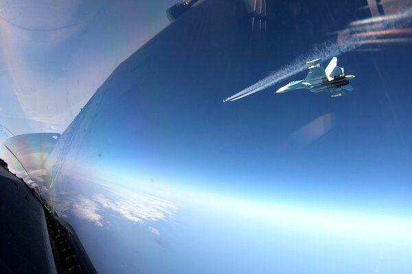 تعقیب و رهگیری جنگنده های روسی توسط ناتو