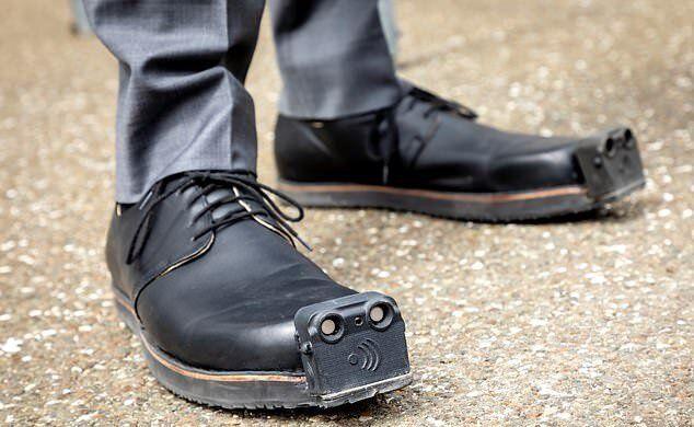 کفش نجات بخش نابینایان!