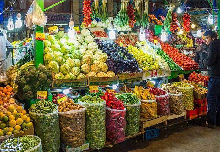 قیمت سبزی و صیفی جات در بازار (۶ خرداد ۹۹) + جدول