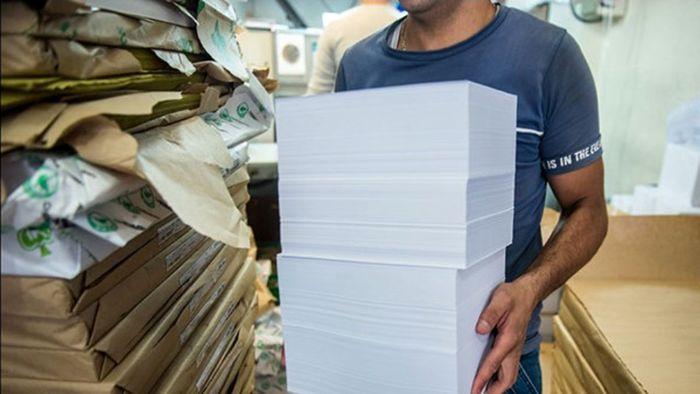 ریزش چشمگیر قیمت کاغذ