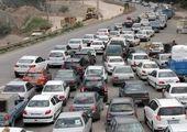آخرین شرایط ترافیکی جاده چالوس و هراز + فیلم