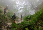 سقوط و جانباختن یک چترباز در ارتفاعات وردیج