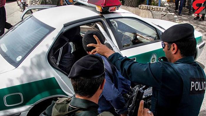 دزدی مسلحانه از یک طلافروشی در تهرانپارس + تصاویر