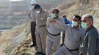 بازدید سعد محمدی از مجتمع مس سرچشمه و شهربابک