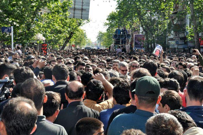 ماجرای تشییع جنازه چند هزار نفره در شادگان چیست؟