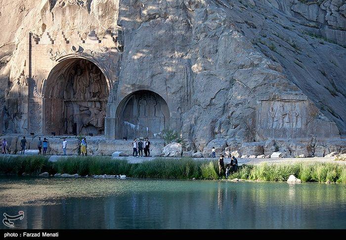 تصاویر/ بازگشایی مجدد طاق بستان