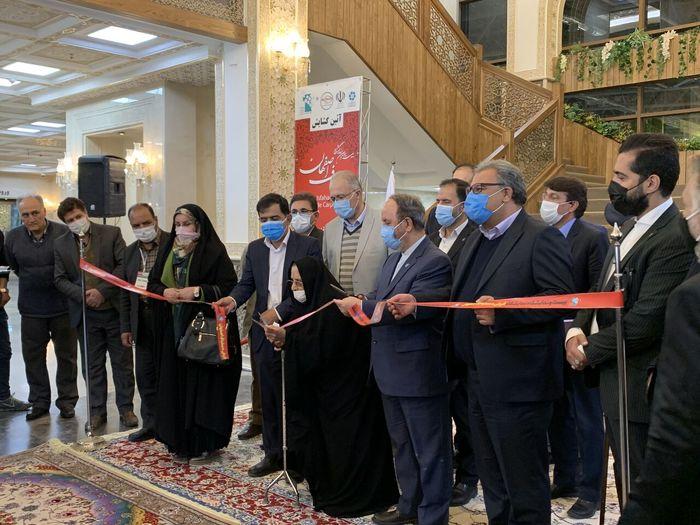 آغاز به کار بیست و سومین نمایشگاه فرش دستباف اصفهان