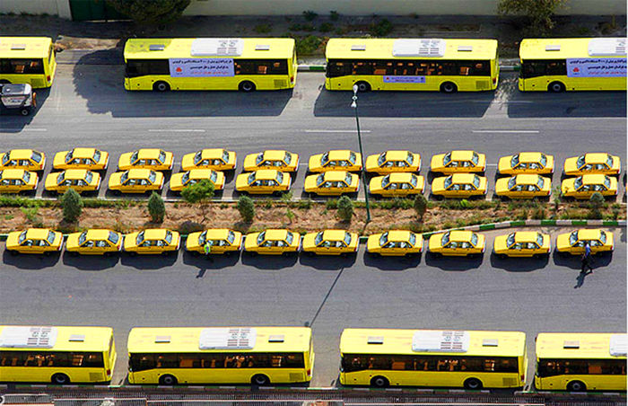 اتوبوس های جدید در راه تهران + جزئیات