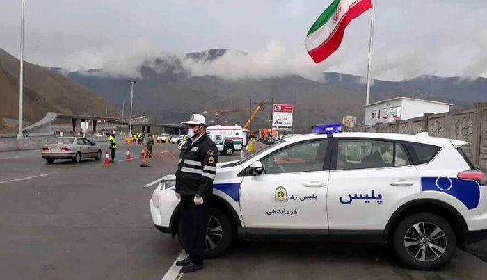 پلیس تهران به ۷۵۰۰ خودرو تذکر داد
