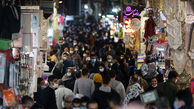 تصاویر/ بازار بزرگ تهران و استقبال پرشور از کرونای انگلیسی