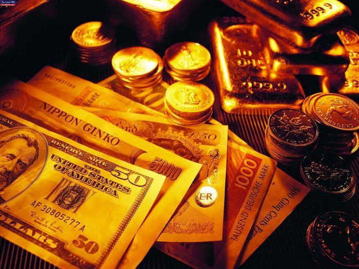 تاثیر افت نرخ دلار بر قیمت جهانی طلا