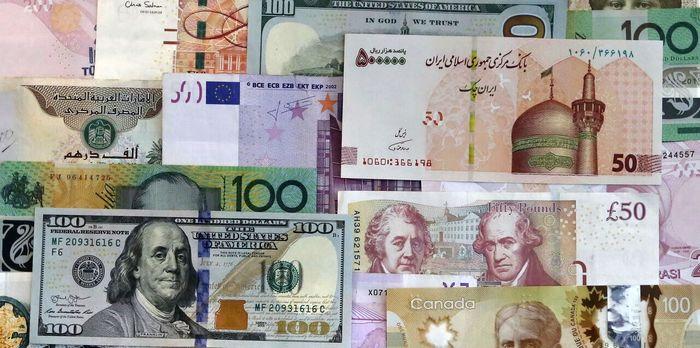 آخرین قیمت رسمی انواع ارز (۹۹/۱۰/۲۹)