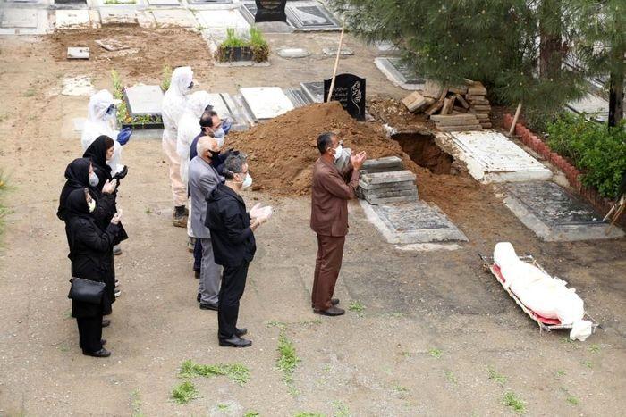 دفن  ۴۰ درصد از متوفیان کرونایی در این مکان
