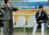 نفوذ مارادونا در قلب دشمن!
