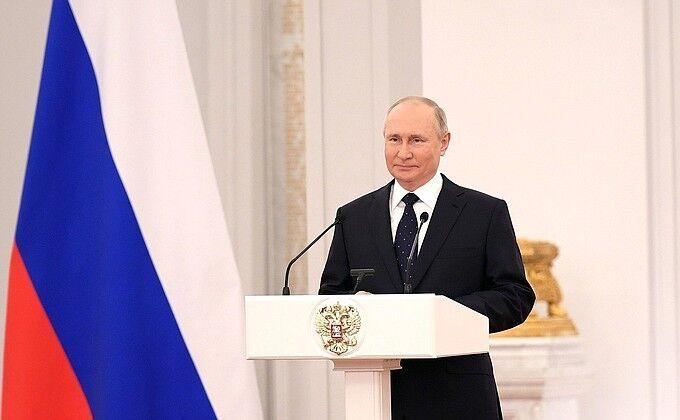 قدردانی پوتین از اصلاح قانون اساسی روسیه