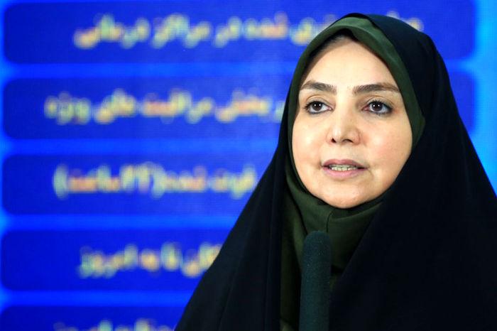آخرین آمار کرونا در ایران (۱۴۰۰/۰۱/۱۰)