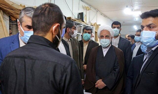 پیگیری اژهای از روند واکسیناسیون زندانیان