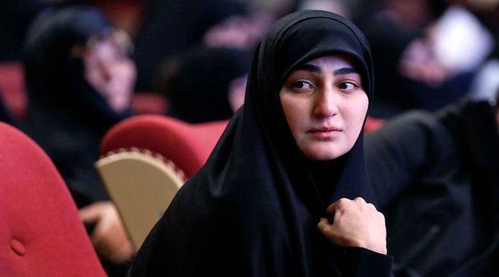 واکنش زینب سلیمانی به شهادت سردار حجازی +عکس