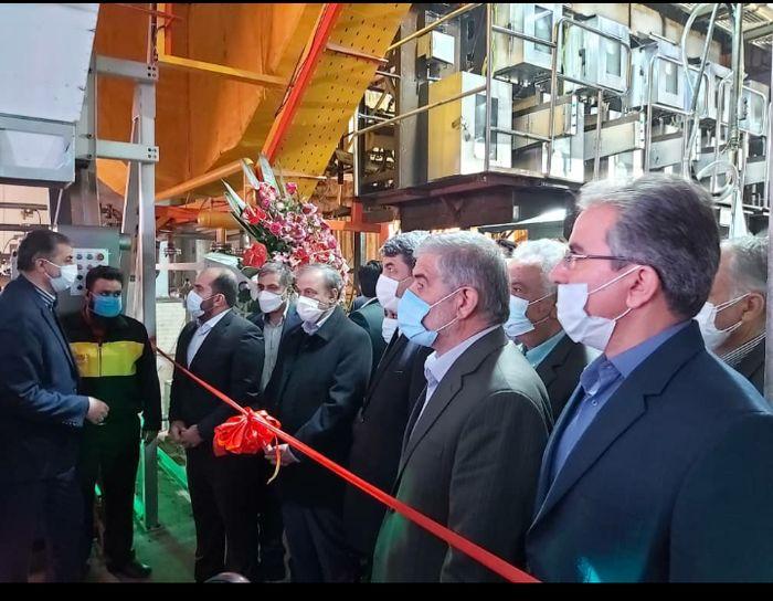 طرح توسعه واحد تولیدی نخ سیرنگ در اشکذر افتتاح شد
