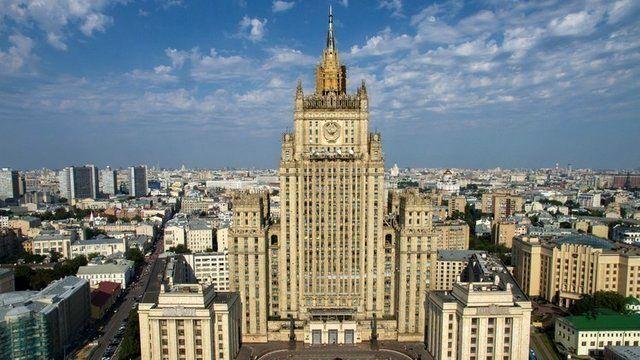 اخراج کارمند سفارت اوکراین توسط روسیه
