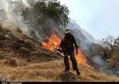 مهار آتش سوزی اولیه خائیز با ورود بالگرها/ احتمال شعله ور شدن مجدد