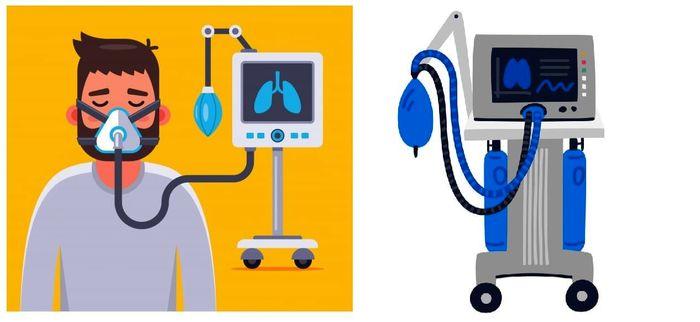 همه چیز درباره دستگاه کمک تنفسی ونتیلاتور