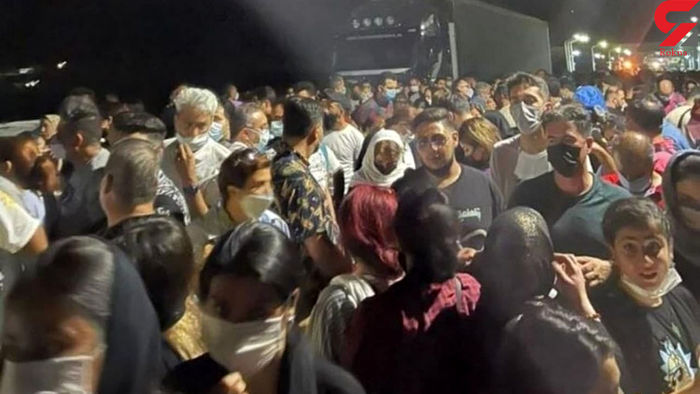ازدحام مسافران ایرانی در مرز ارمنستان