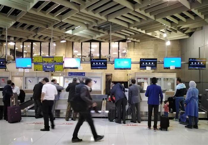 فرودگاه مهرآباد پلمب شد؟