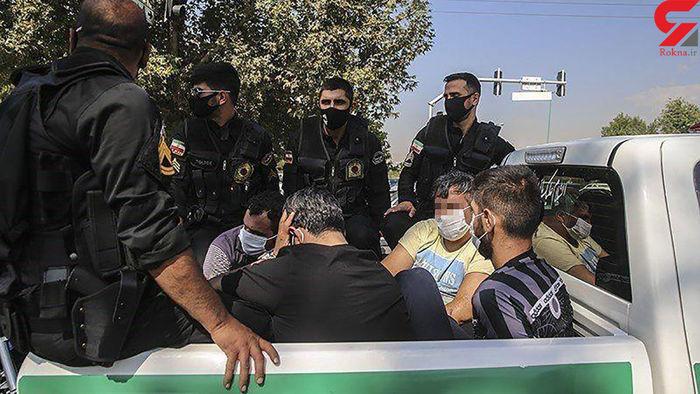 ضاربان روحانی شرق تهران دستگیر شدند / عکس