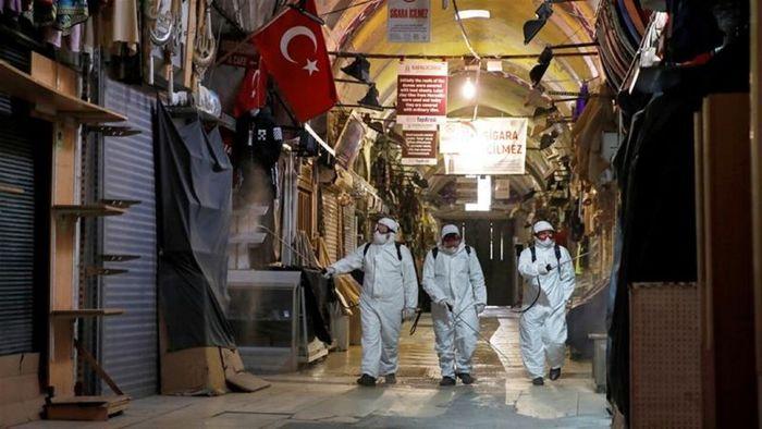 ترکیه قرنطینه شد