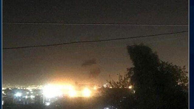انفجارهای رگباری در فرودگاه بین المللی اربیل