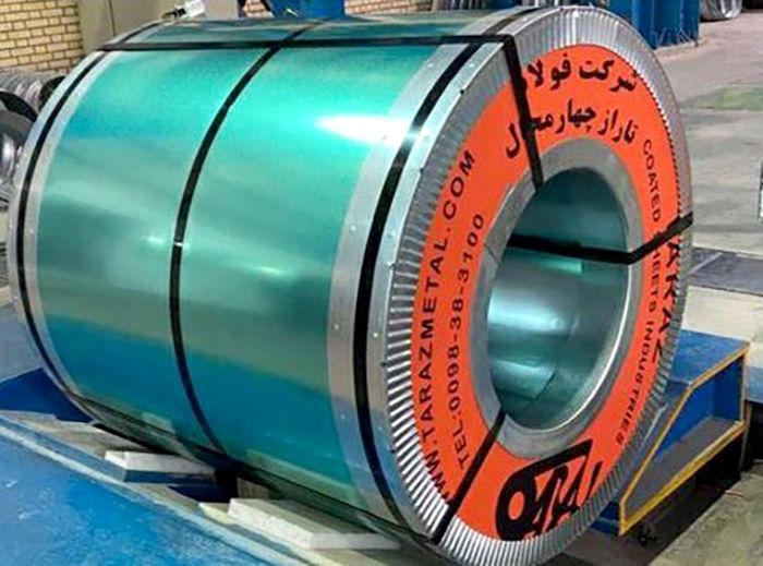 گام بلند تاراز در تولید ورق گالوانیزه TOC
